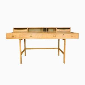 Dänischer Flip-Top Partner Desk von Jens Quistgaard für Løvig, 1960er