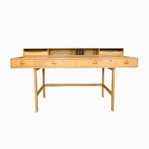 Danish Flip-Top Partner Desk by Jens Quistgaard for Løvig, 1960s