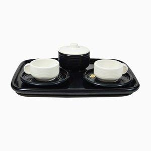 Keramik Tête à Tête Kaffeeservice von 4p Pareschi