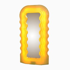Ultrafragola Wall Mirror by Ettore Sottsass for Poltronova, 1970s