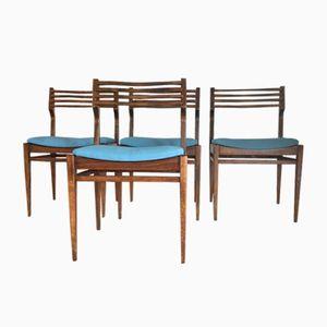 Chaises Vintage de NF, 1970s, Set de 4