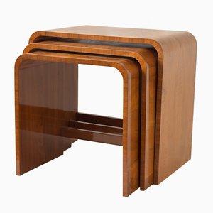 Tavoli ad incastro Art Deco di Hille, anni '20