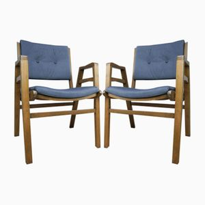 Model 4500 Armchairs from Biała Podlaska, 1970s, Set of 2