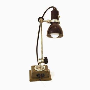 Lámpara de mesa eslovaca, años 50