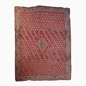 Tapis Oushak Kilim Antique Fait Main, Turquie, 1880s