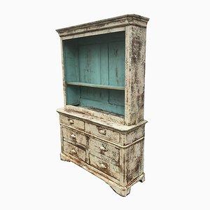 Patinierter Vintage Holzschrank