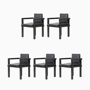 D 51 Chairs by Walter Gropius for Tecta, 2000s, Set of 5