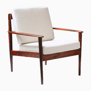 PJ-156 Rosewood Chair by Grete Jalk for Poul Jeppesen, 1950s