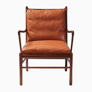 Rosewood PJ-149 Colonial Chair by Ole Wanscher for Poul Jeppesen, 1950s