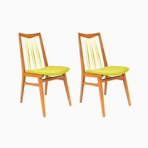 Vintage Green Chairs, Set of 2