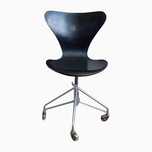 3117 Series 7 Office Chair by Arne Jacobsen for Fritz Hansen, 1970