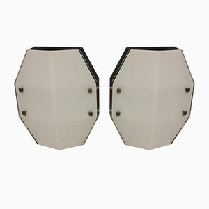 Italian Sconces by Gio Ponti for Arredoluce Monza, 1950s, Set of 2