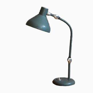 Lámpara de mesa GS1 vintage verde de Jumo