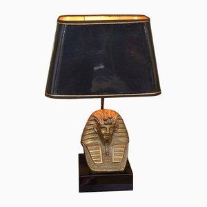 Lámpara de mesa francesa vintage escultural