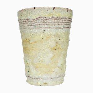 Italienische Keramiktasse von Guido Gambone, 1940er