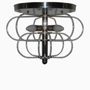 Lámpara colgante minimalista de Gaetano Sciolari, años 70