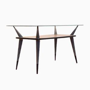 Mid-Century Italian Geometrical Coffee Table, 1950s