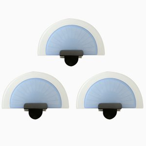 Diva Wall Lights by Ezio Didone for Arteluce, 1987, Set of 3