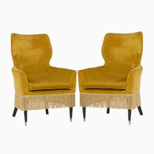 Italian Ladies' Chairs by Paolo Buffa, 1960s, Set of 2