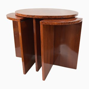 Art Deco Pull-Out Nesting Tables, 1920s