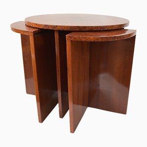 Tables Gigognes Dépliables Art Déco, 1920s
