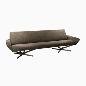 Gray Fabric Sofa by Georges van Rijck for Beaufort, 1960s