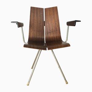 Schweizer Vintage GA 4017 B PH / TYP 739 Stuhl von Hans Bellmann für Horgen Glarus, 1970er