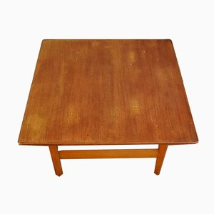 Vintage Scandinavian Teak Coffee Table by Karl Sørlie for Sørlie & Sonner, 1960s