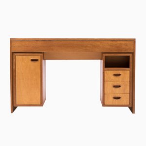 Mid-Century Modern Dutch Desk in Teak, 1952