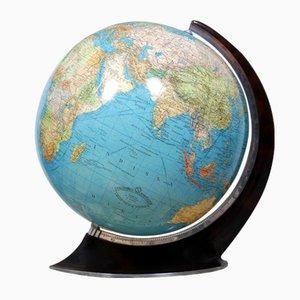 Globe Lumineux par Columbus, Allemagne, 1950s
