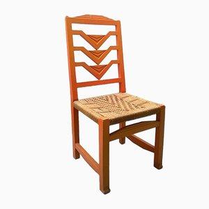 Futuristischer Italienischer Stuhl, 1930er
