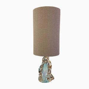 Italienische Vintage Glaslampe von Gianni Seguso für Murano, 1960er