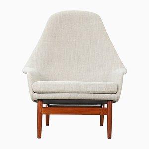 Sessel mit hoher Rückenlehne von Ib Kofod-Larsen, 1957, 2er Set