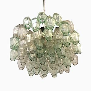 Polyhedron Chandelier by Carlo Scarpa for Venini, 1960s