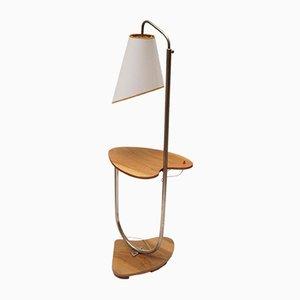 Lámpara de pie polaca Mid-Century