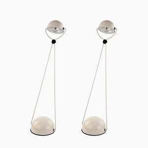 Metal Table Lamps by Stefano Cevoli for Vermezzo, 1980, Set of 2