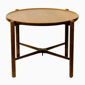 Table Basse Vintage en Teck par Hans Wegner pour Andreas Tuck, Danemark