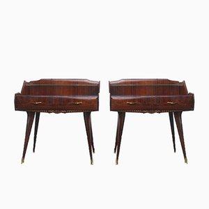 Tables de Chevet Vintage, Italie, Set de 2