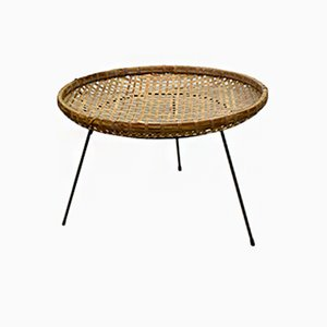 Vintage Rattan Magazine Rack from Artimeta