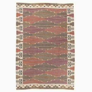 Vintage Bruna Heden Flat-Weave Carpet from Märta Måås-Fjetterström