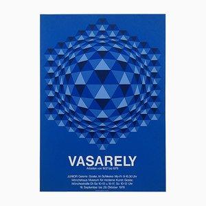 Victor Vasarely Siebdruck Ausstellungsplakat, 1978