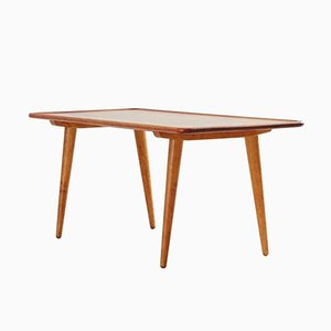 Danish Teak Coffee Table by Hans J. Wegner for Andreas Tuck, 1950s