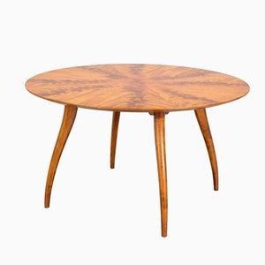 Tavolino impiallacciato in mogano di Bodafors, Svezia, anni '50