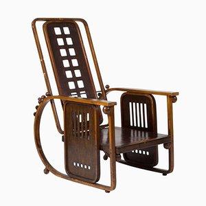 Fauteuil Sitzmaschine par Josef Hoffmann pour J.& J. Kohn, 1908