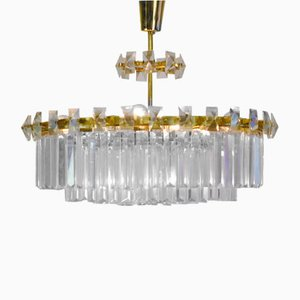 Chandelier by Oswals Haerdtl for J.&L. Lobmeyr, 1950s