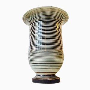 Vintage Danish Ceramic Floor Vase by Herman August Kähler, 1920s