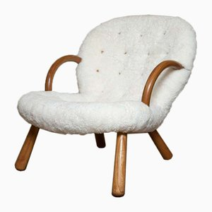 Vintage Clam Chair by Philip Arctander for Vik & Blindheim