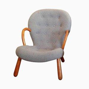 Chaise Clam Vintage par Philip Arctander pour Vik & Blindheim