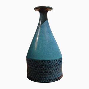 Schwedische Vase von Stig Lindberg für Gustavsberg, 1967