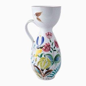Mid-Century Faience Vase by Stig Lindberg for Gustavsberg